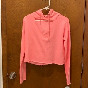 Exist crop top hoodie size small NWT